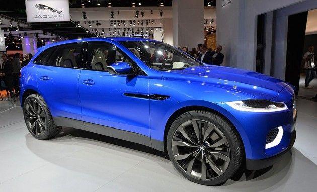 F Pace Model Suv Pertama Jaguar Yang Akan Diluncurkan Di