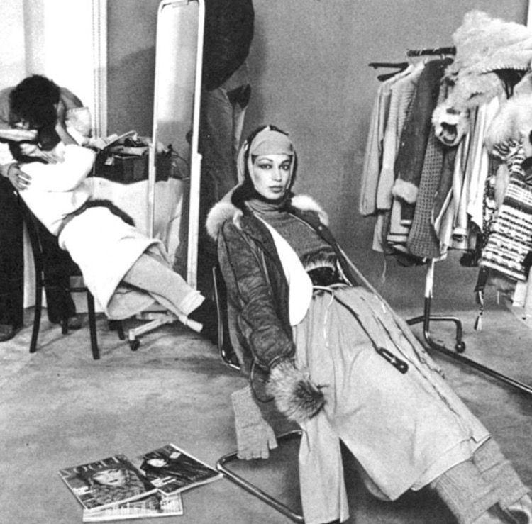Vogue Italia 1976. David Bailey