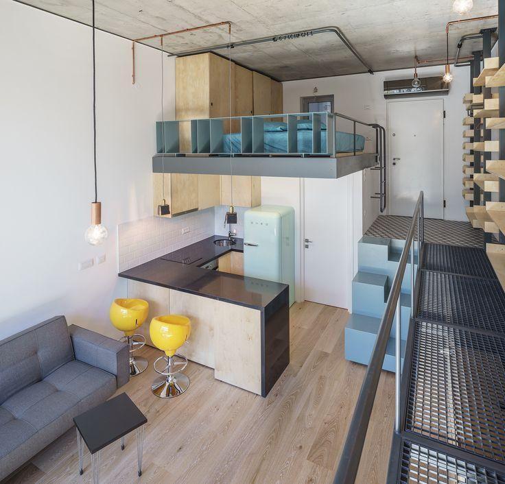 Apartamento loft ideias apto pinterest apartamento for Ap lofts