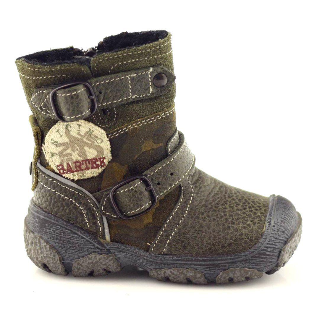 Kozaczki Buty Dzieciece Bartek 91543 Zielone Wielokolorowe Boots Green Boots Childrens Boots