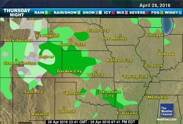 Denver weather 10 day