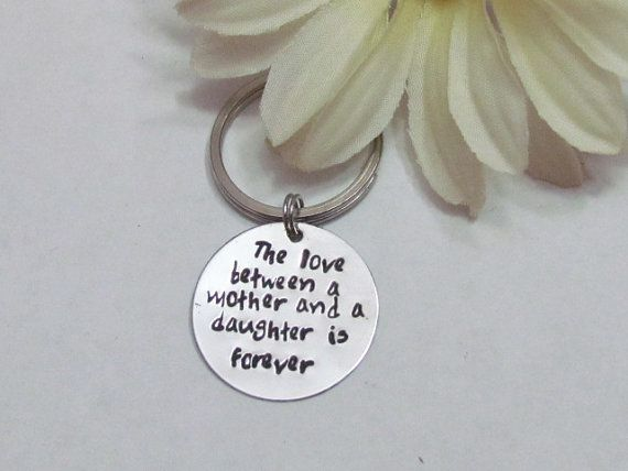 Mother Daughter Wedding Gifts: MOTHER DAUGHTER Keychain