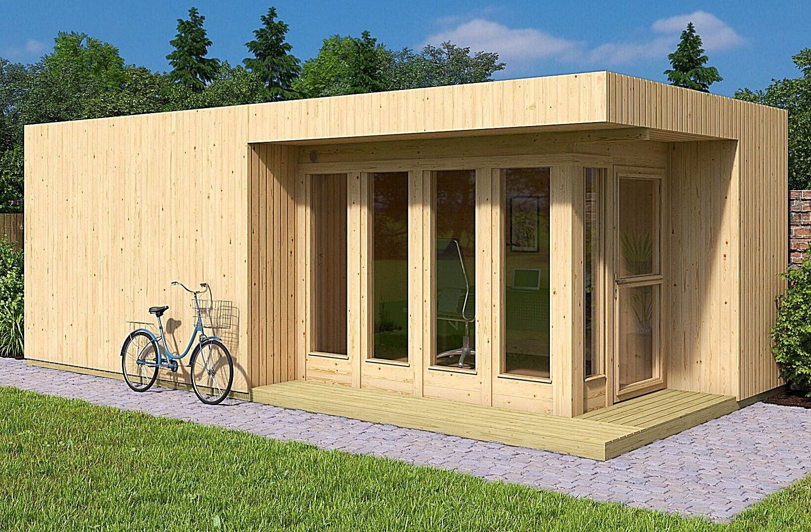 Allwood Arlanda XXL 273 SQF Garden House Kit Tiny