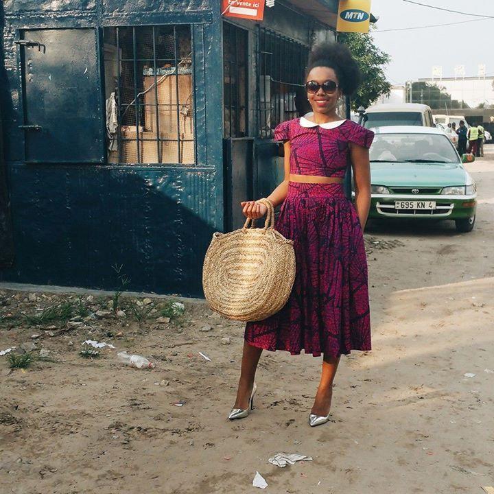 La Bloggeuse Fatou N'diaye De Black Beauty Bag, à