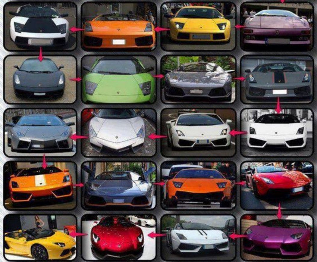 Consider Yourself A Lamborghini Fanatic How Many Of These Models Can You Name Comment Below Lambo Auto Body Collision Repair Collision Repair Car Quiz