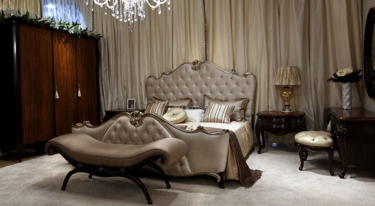 italian style furnishings transitional italian bed room set - Italian Bedroom Sets