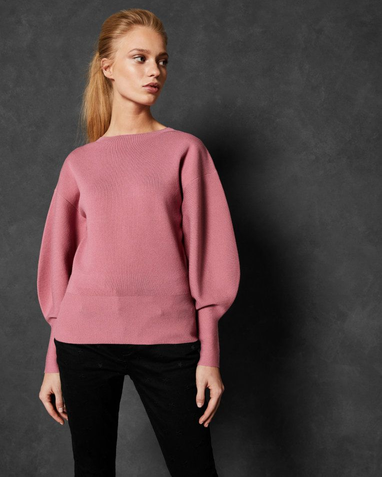 Bell Sleeve Jumper Coral Sweaters Ted Baker Latest Fashion Design Fashion Designer Outfits Woman