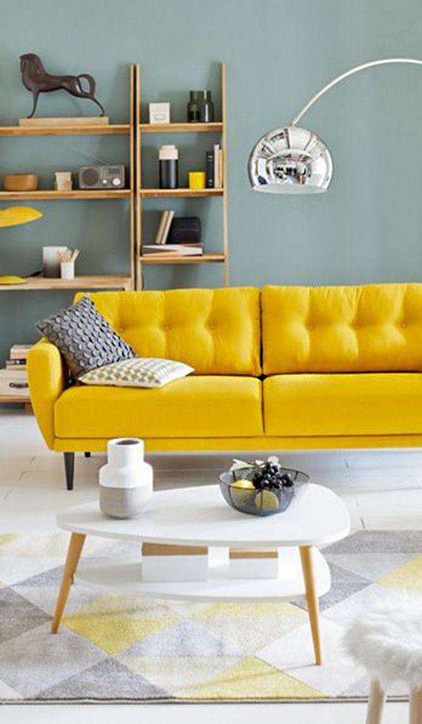 17 Ideas Para Integrar El Color Amarillo En Tu Sal 243 N
