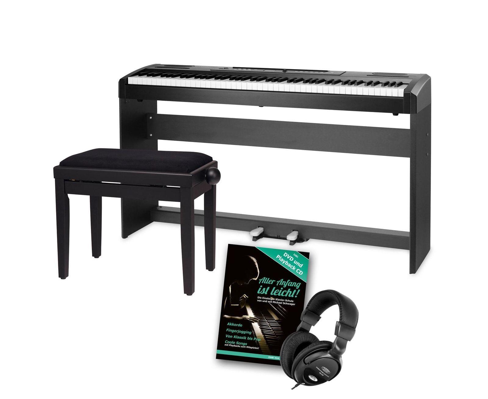 digital stage piano 88 tasten hammermechanik e piano kopfhÖrer