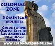 http://www.colonialzone-dr.com logo link includes superstition-omens widely held in the Dominican Republiv