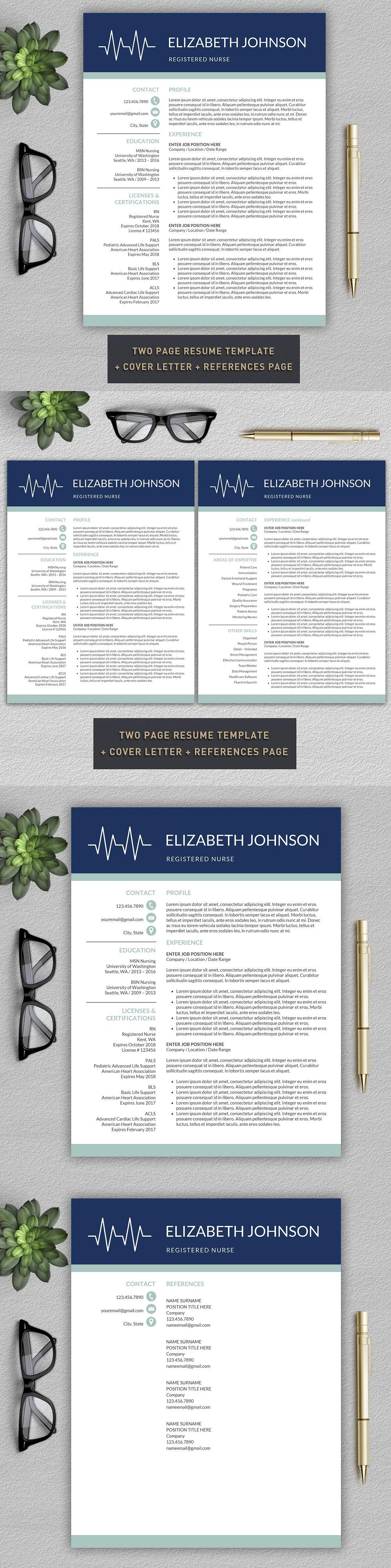 Nurse Resume Medical CV Template Nursing resume, Cv
