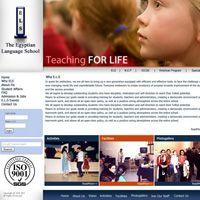 The Egyptian Language School (ELS) website.  www.els-egypt.com