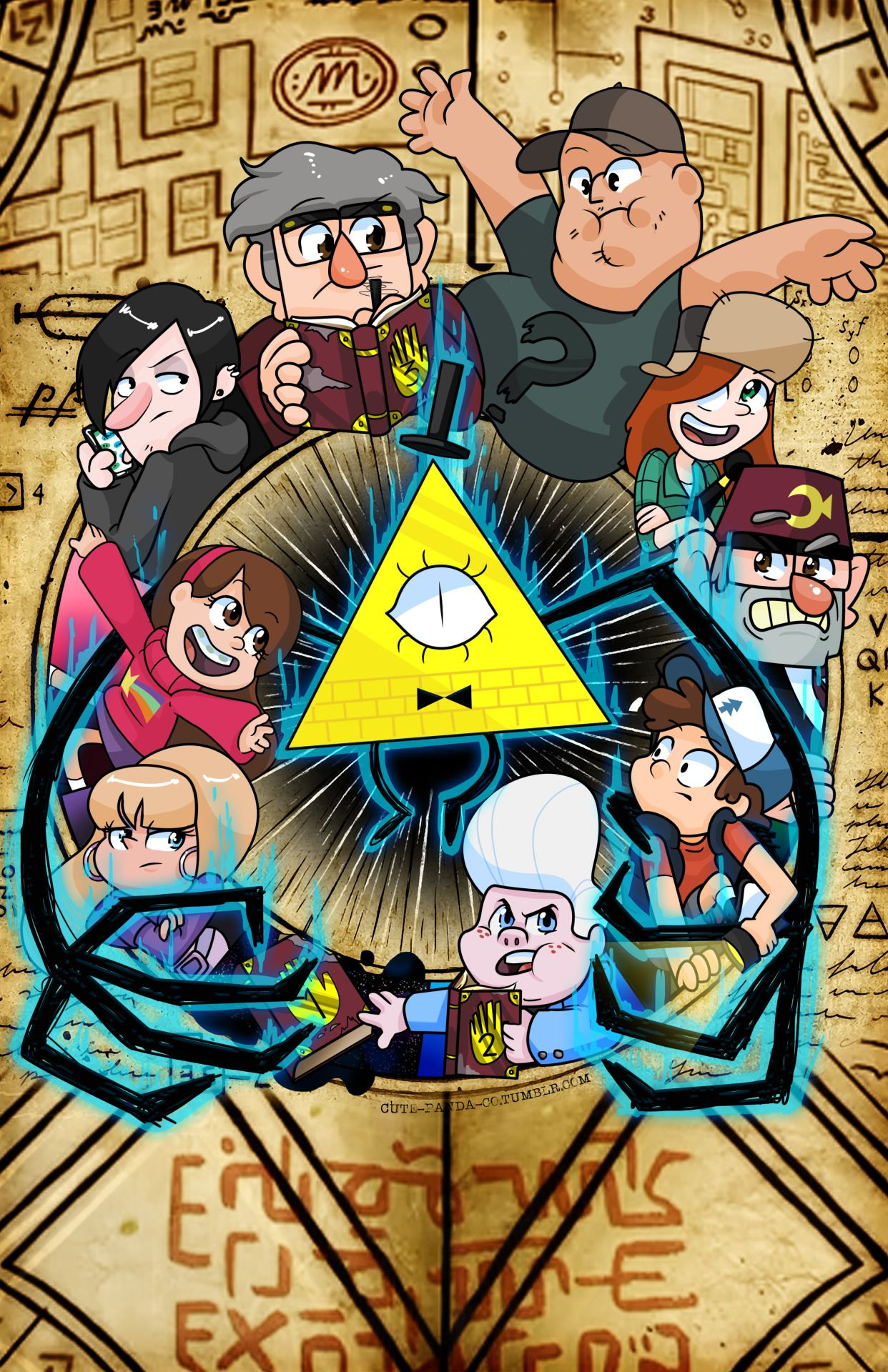 Just punch me in the face that was fun shop circle symbol bill cipher gravity falls circle symbol reveal biocorpaavc