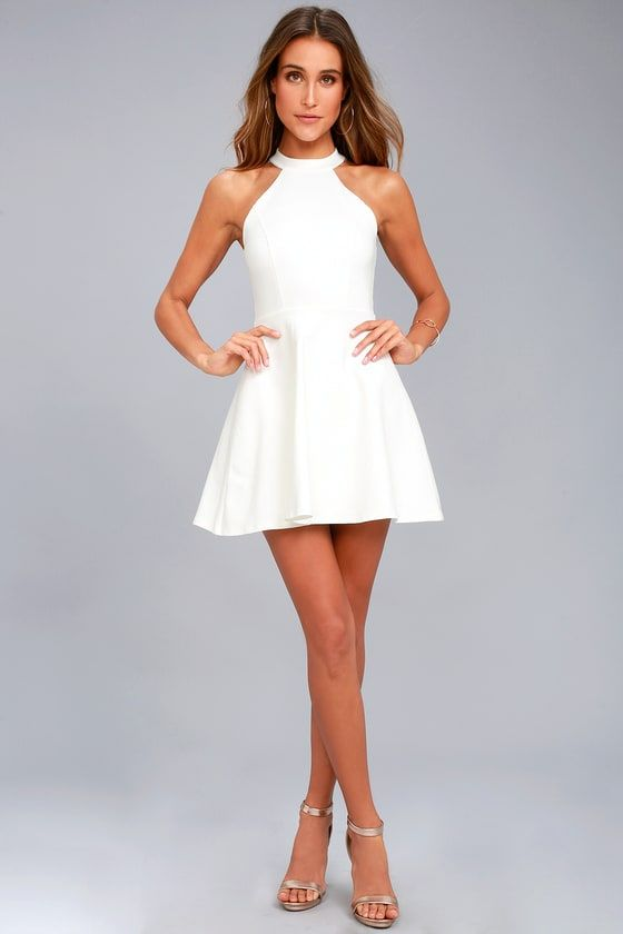 Girls White Graduation Dresses