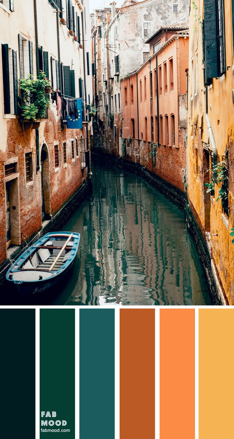 Color Inspiration : Emerald and Terracotta – Color Palette #31