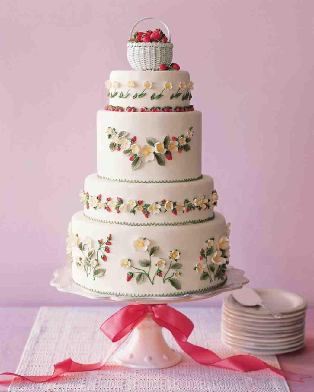 Strawberry Wedding Cake Recipe Wheatfields   Google Search