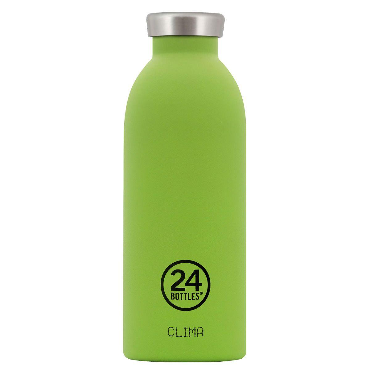 Die Limegrune Clima Thermosflasche 0 5 L Von 24bottles Die Doppelwandige Isolierflaschen Aus Edelstahl Dklb 24bottle Thermosflasche Kalte Getranke Getranke