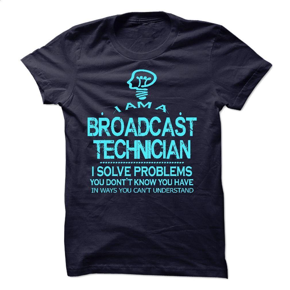 i am aan BROADCAST TECHNICIAN T Shirt, Hoodie, Sweatshirts - vintage t shirts #tee #Tshirt