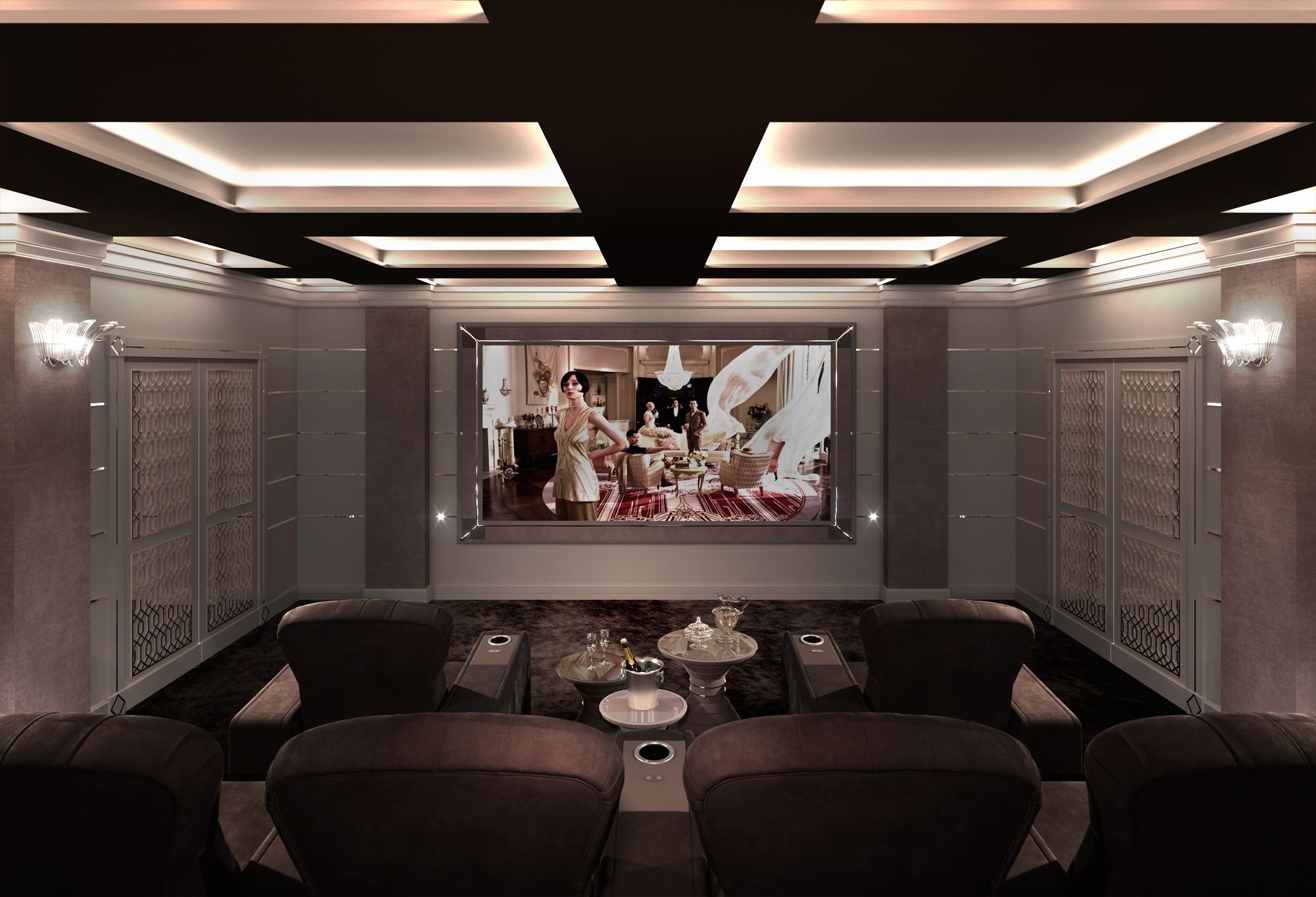 Sala Cinema Cinema -> Imagem De Sala De Cinema