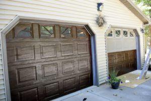Gel Stain Garage Doors To Revitalize Them Our Recipes For Success Garage Door Design Garage Doors Diy Garage Door