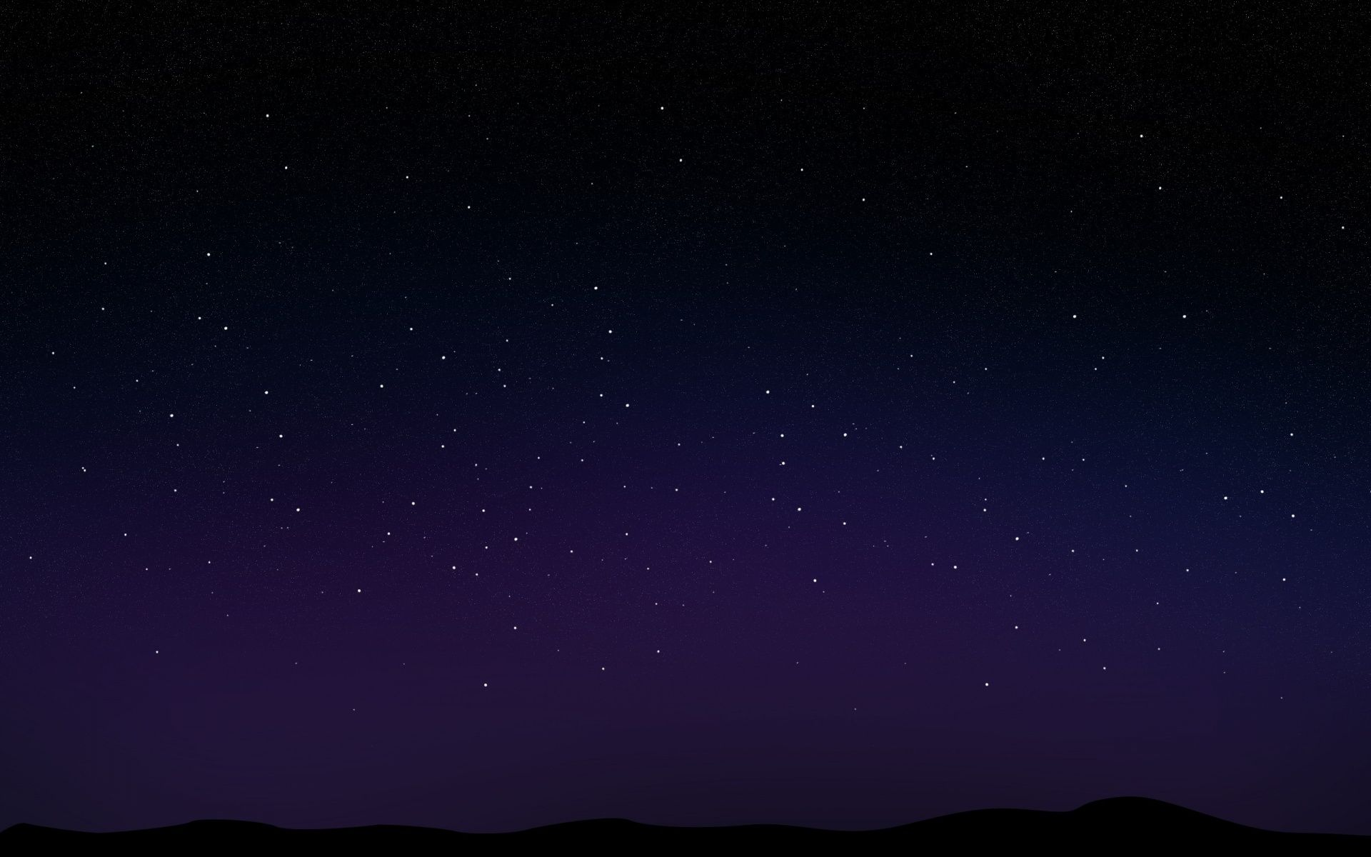 Starry Night Sky 1920x1080 Mtcgy Wallpaper Wp1209517