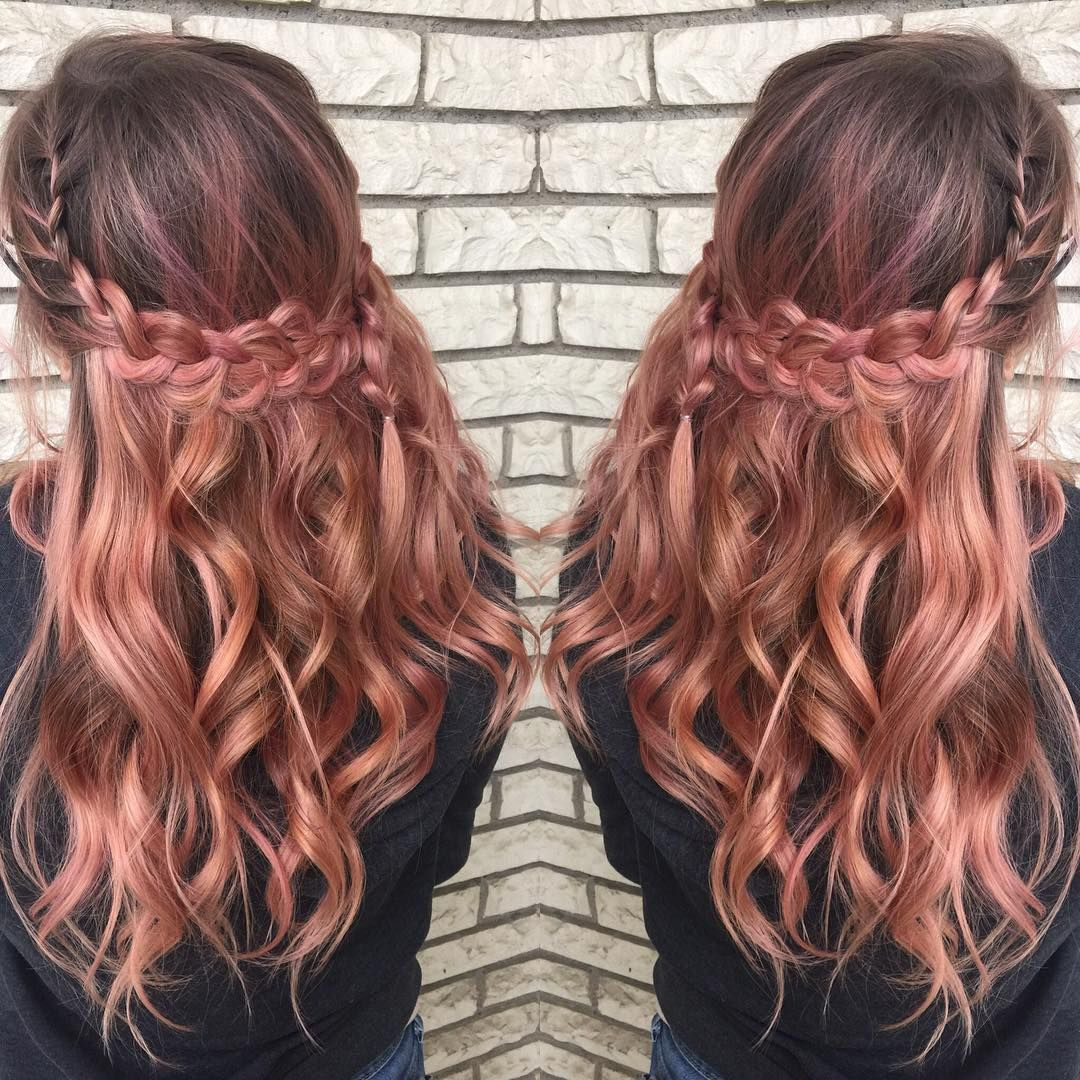 Rose Gold Hair Color Balayage & Color Specialist ...