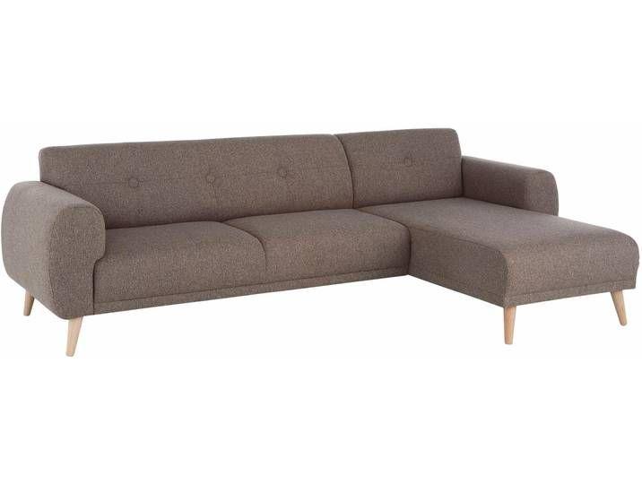 Home Affaire Eck Couch Skagen Braun Fsc Zertifiziert In 2020 Polsterecke Recamiere Sofa