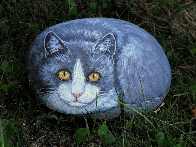 Silver by rockpainting , yvette,