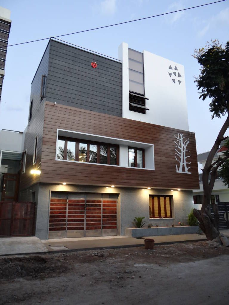 A modern but simple house from bellary karnataka from justwords