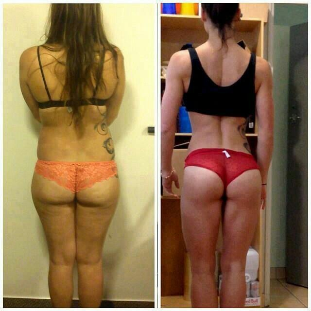 Crossfit Before After Body Transformation. See What