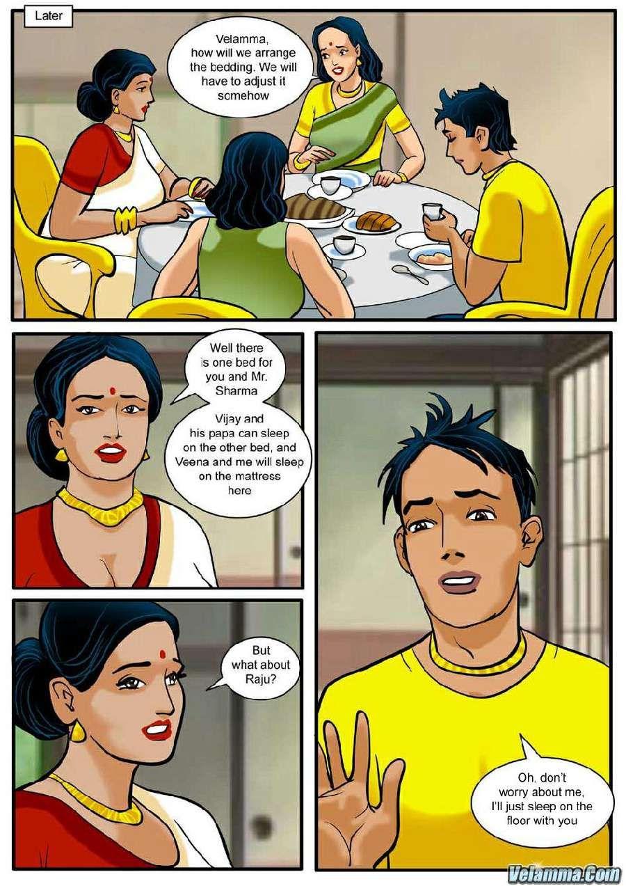 Velamma EPISODE 4 The Picnic Velamma pdf, Comics pdf