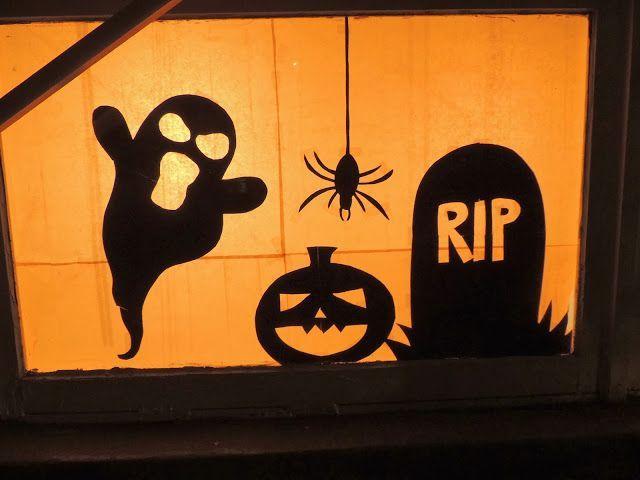 8 ideas de miedo para decorar puertas y ventanas en Halloween ...