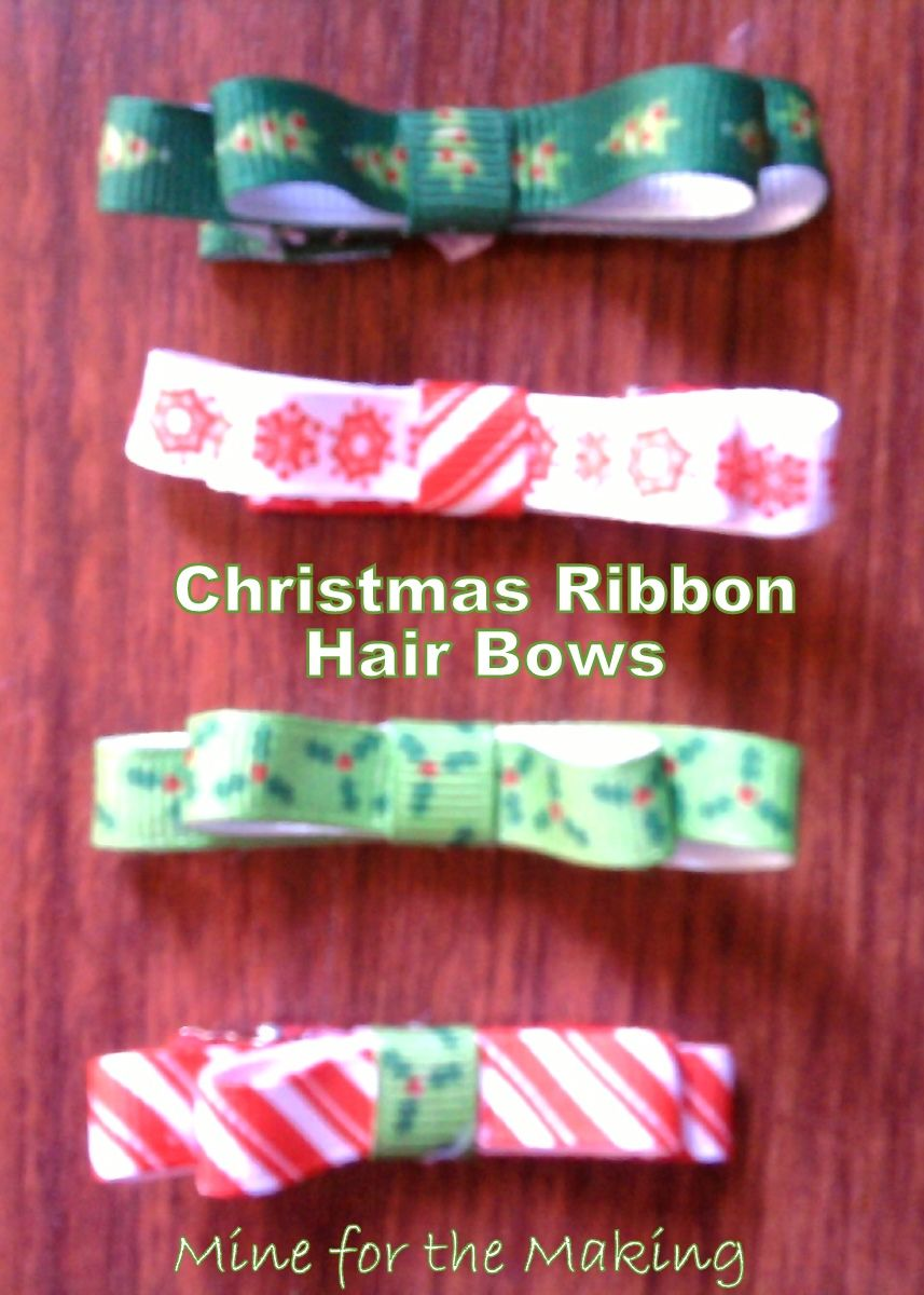 Ribbon hair bows tutorial mine for the making bows ribbon hair bows tutorial mine for the making baditri Image collections