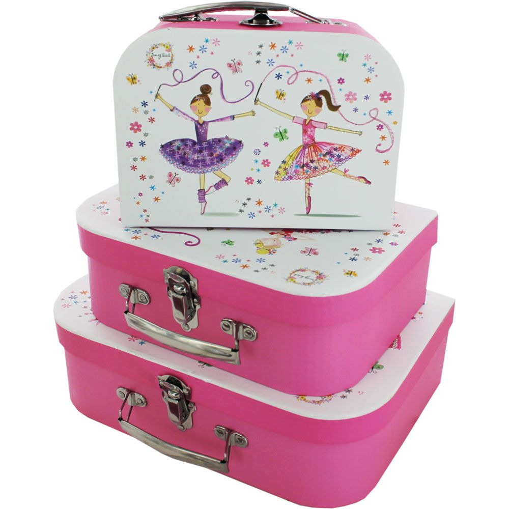 Daisy Patch Storage Suitcases Set Of 3 Online From The Works Visit Now
