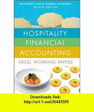 Hospitality Financial Accounting Excel Working Papers 9780470288306