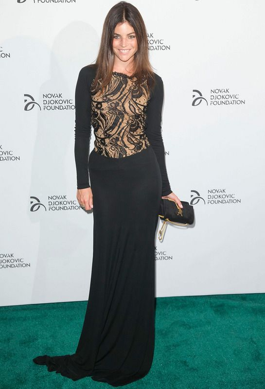 Gala de Novak Djokovic Foundation. Julia Restoin Roitfeld
