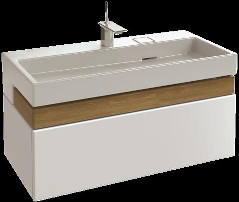 meuble sous plan vasque 100 cm jacob delafon france - 100 Cm Plan Vasque