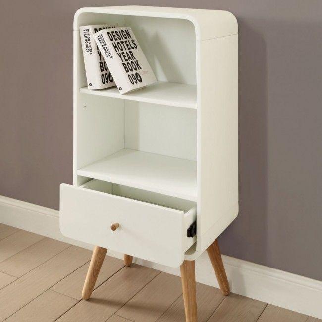 Jual Bali Bs201 Book Shelf Oak Bookcase Small Bookcase Wood