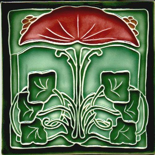 Decoraci n motywy kwiatowe i ro linne pinterest art for Decoracion art nouveau