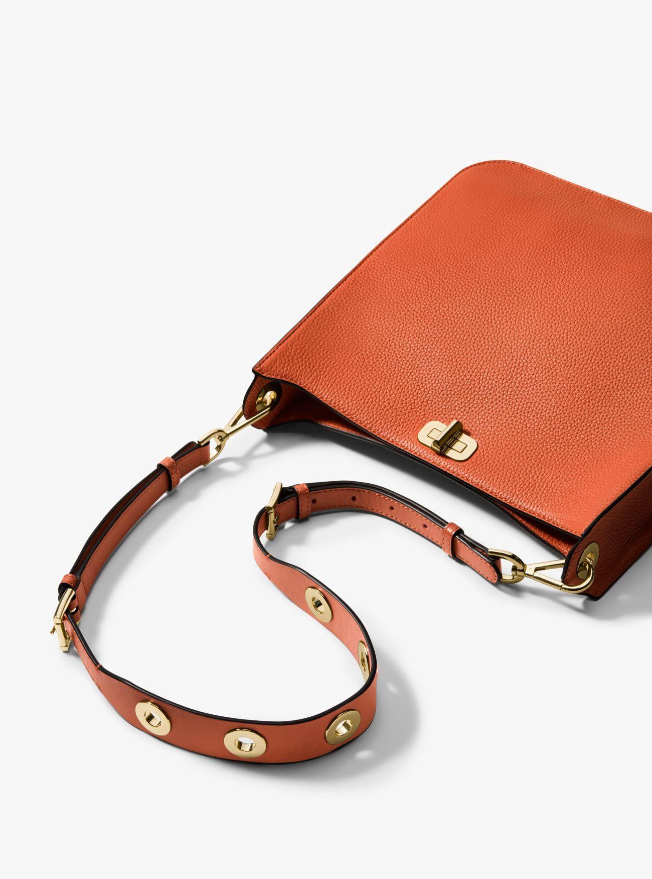 e182379e9d67 MICHAEL KORS Sullivan Large Leather Messenger.  michaelkors  bags  shoulder  bags  leather  polyester  lining