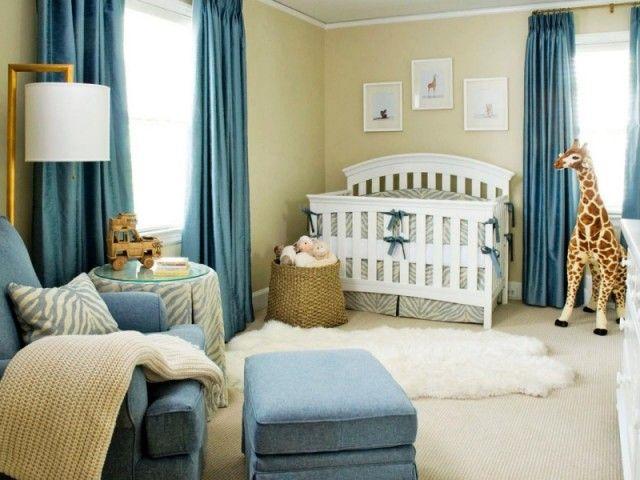 Décoration chambre bébé garçon en bleu \u2013 36 idées cool Bebe