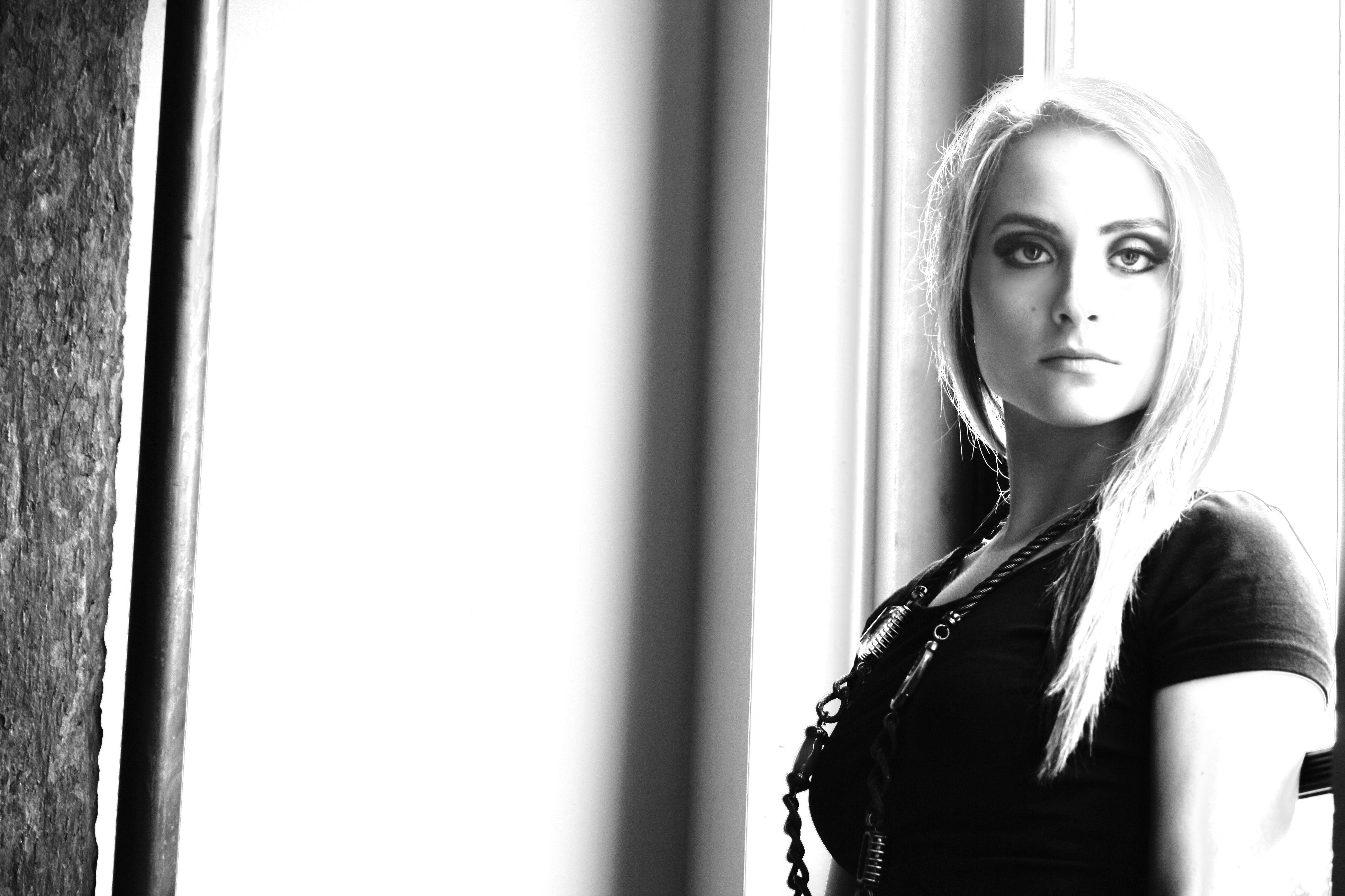 black and white photo by Sonya Kristina