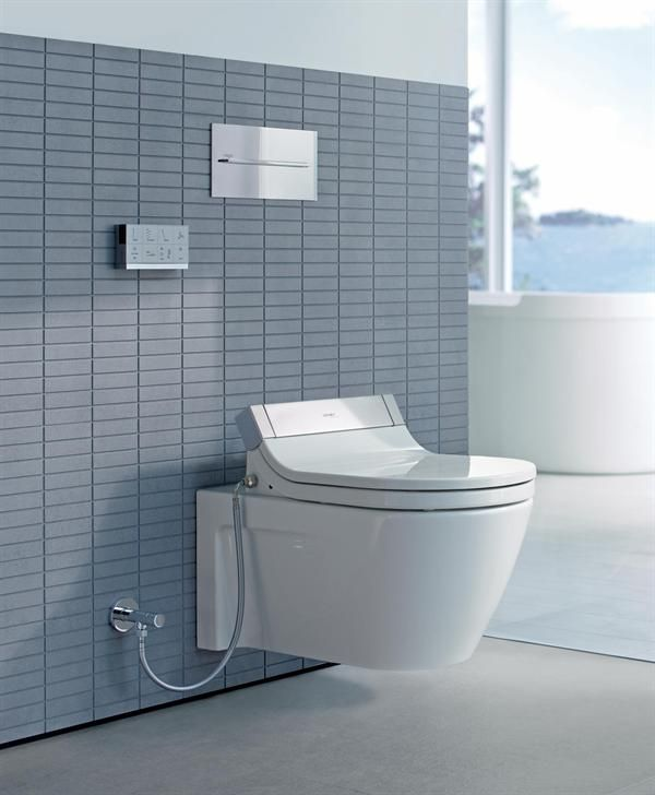 Stressing technology and design, Duravit has launched SensoWash, a ...