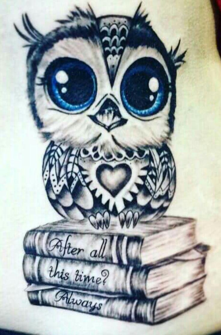 pin von s weikard auf tattoo  tattoo eule buch tattoo