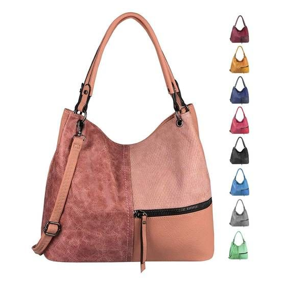 OBC LADIES BAG A4 Shopper Tote Bag Bolso Hobo Bolso Crossbody Bolso Bandolera Bolso Bucket Aspecto De Cuero  – Bolsa de moda