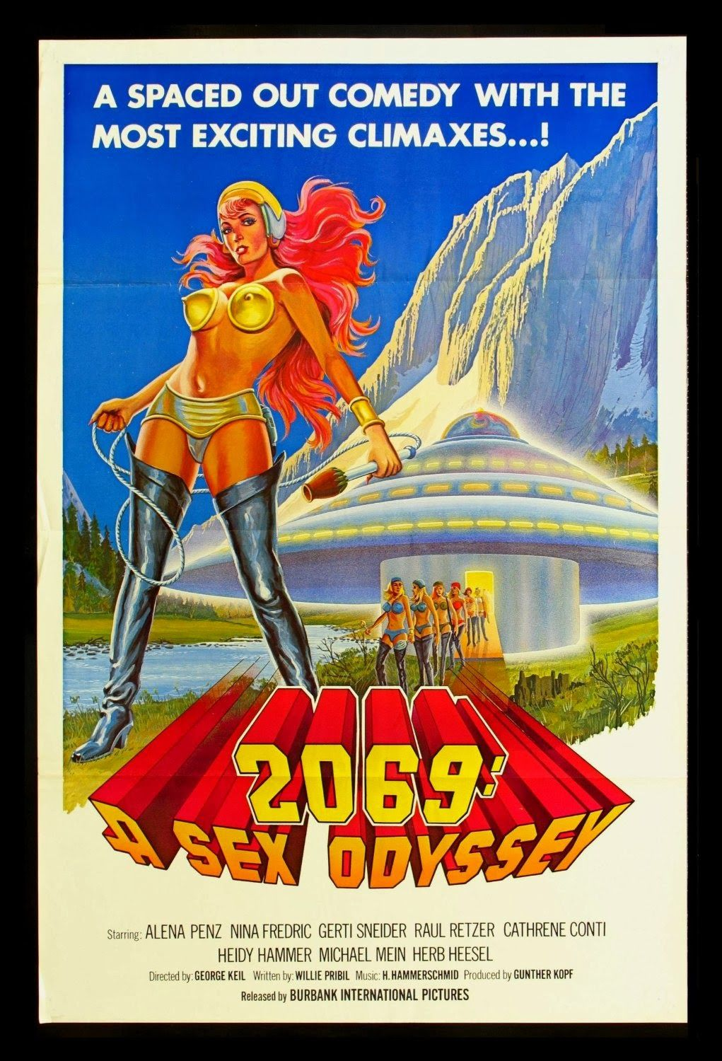 The Top 100 Sexiest Sleaziest Science Fiction Films Of All Time