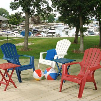 Astonishing Red White Blue Adirondack Chairs Red White Blue Short Links Chair Design For Home Short Linksinfo