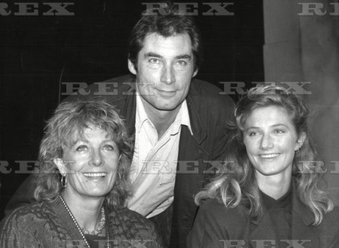 Timothy Dalton With Vanessa Redgrave And Joely Richardson