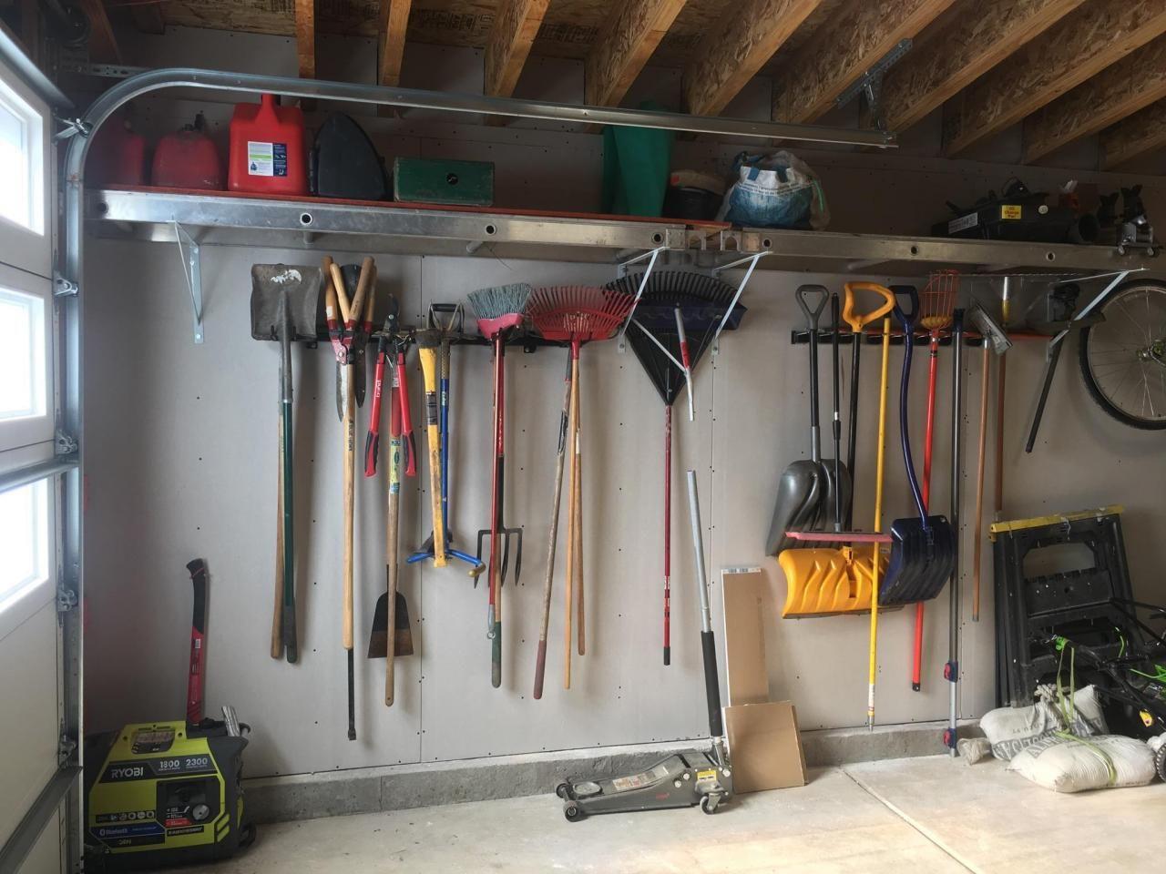 tool max storage rack g system wall