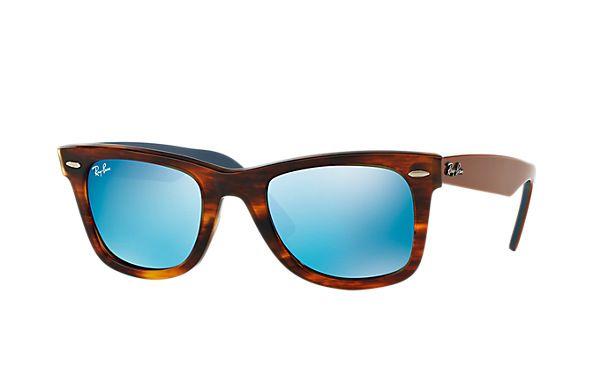 Original Wayfarer Bicolor Blu Flash   Ray ban sunglasses